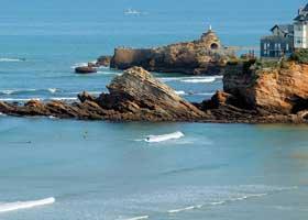 la météo plage Biarritz