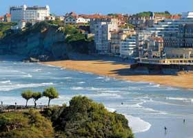 La plage Marbella Biarritz