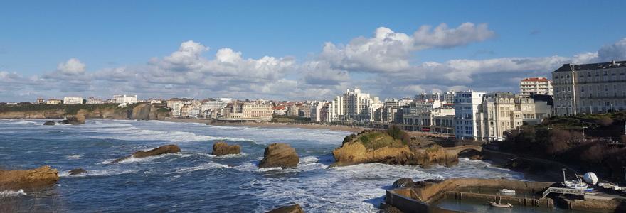 golfe à Biarritz